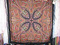 шерстяной платок Чёрный