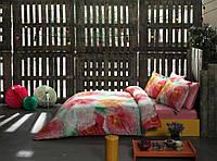 ТАС Digital евро комплект постельного белья сатин Camellia pembe