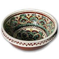 Тарелка глубокая керамическая