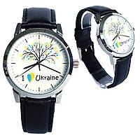 Патриотические часы ZIZ I love Ukraine - Я люблю Украину