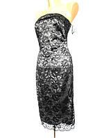 Платье с изысканным ченым ажуром BAY
