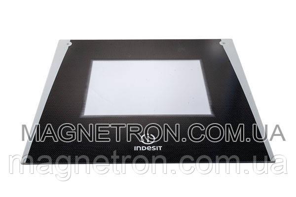 Наружное стекло двери для духовки Indesit C00286941, фото 2