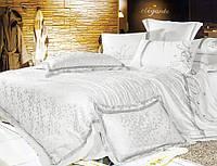 Комплект постельного белья шелковый жаккард La scala 3D-052