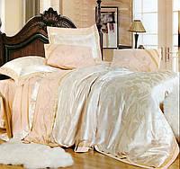 Комплект постельного белья шелковый жаккард La scala 3D-081