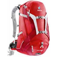 Рюкзак туристичний Deuter Trans Alpine 30 fire-cranberry (32223 5520) для пішого та гірського туризм