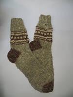 Носки тёплые натуральные из овчиной шерсти (№3)