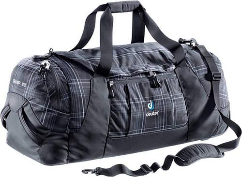 Спортивная, дорожная большая сумка 90 л. на колесах DEUTER TRAMP 90, 35642 7005 черный