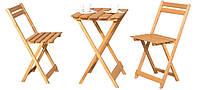 Столик + 2 крісла. Набір меблів на балкон чи терассу
