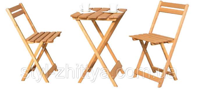 Столик + 2 крісла. набір меблів на балкон чи терассу: продаж.