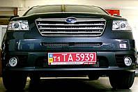 Декоративно-защитная сетка радиатора Subaru Tribeca фальшрадиаторная решетка, бампер
