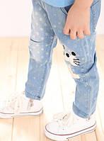Детские джинсы с декором