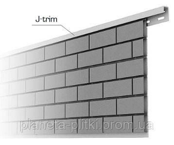 Планка J–trim BlockHouse.3.66 м