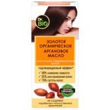 Золотое органическое аргановое масло для сильно поврежденных волос Dr. Bio (Доктор Био)