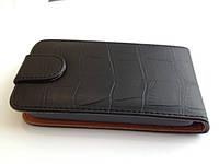 Чехол-книжка к тел. Nokia Lumia 510 NEW Black Alligator