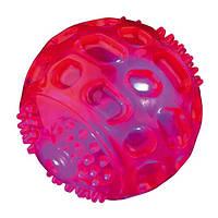 Trixie  TX-33643 мяч мигающий (термопластичный каучук) 6.5см