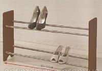 Подставка для обуви Sentimo раздвижная 2 полки