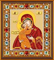 Набор для вышивания бисером икона Богородица Владимировская