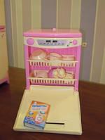 Детская БТ Посудомоечная машина 815 музыкальная в коробке.