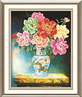 """Алмазная мозаика """"Красивая ваза с цветами"""""""