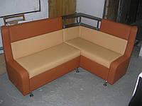 Кухонный уголок с полкой, мягкая мебель для дома