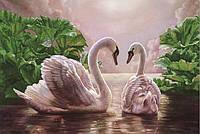 """Набор алмазной вышивки """"Лебеди №3"""""""