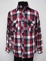 Байковая рубашка на мальчика Клетка