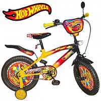 Детский велосипед Mustang HOTWHEELS (16-дюймов от 4-х до 8-ми лет!)