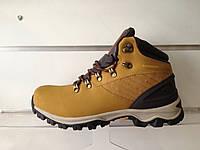 Ботинки Timberland waterproof коричневые зима