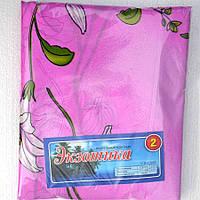 Розовое постельное белье из дешевой бязи двухспальное