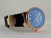 Женские часы - Ulysse Nardin - Maxi Marine -  на черном каучуковом ремешке, черный циферблат