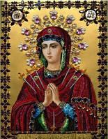 """Набор алмазной вышивки икона """"Богородица Семистрельная"""""""