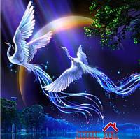 """Картина для рисования камнями(стразами) птицы""""Diamond painting"""" """" Алмазная вышивка""""мозаика iLife"""