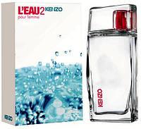 Женская туалетная вода Kenzo L`Eau 2 pour Femme (Кензо Лью 2 пур фемми),100 мл