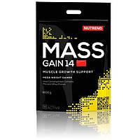 Белково-углеводные смеси (гейнеры) Nutrend Mass Gain 14 6000g