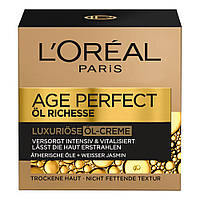 L'Oréal Age Perfect Öl Richesse Luxuriöse Öl-Creme - Крем для лица с эфирными маслами