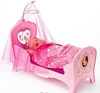 Кроватка для куклы Сладкие Сны Baby Born Zapf Creation 819562