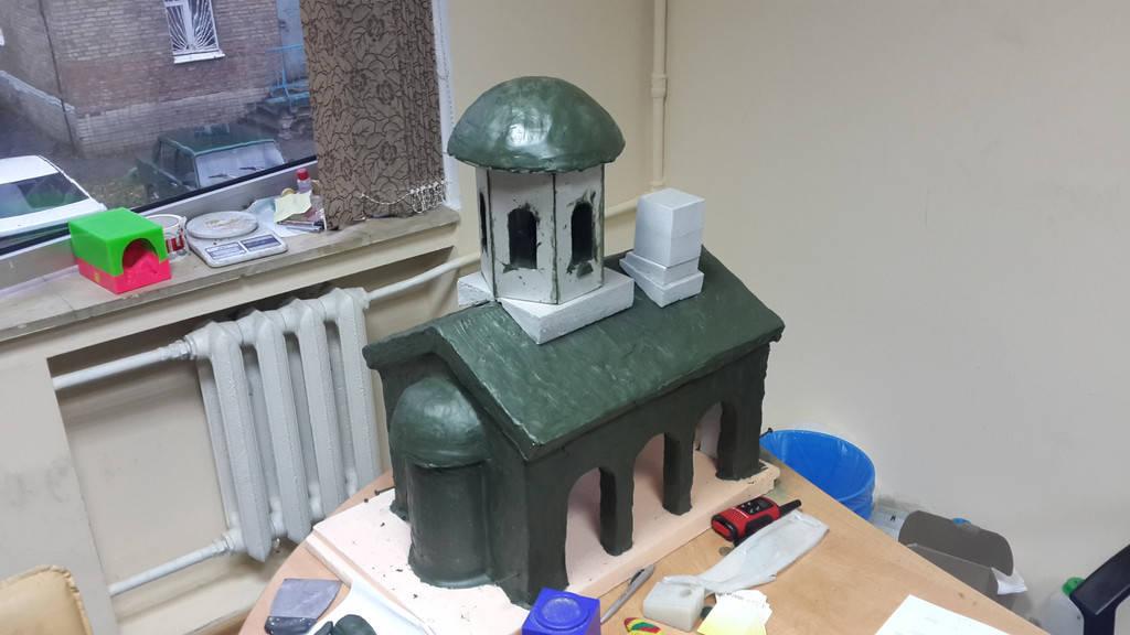 Мастер-модель и полиуретановые формы для бетона