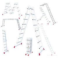 Werk 4х4 шарнирная лестница-трансформер до 4,6 метров