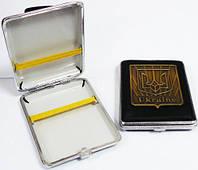 Портсигар  Герб  Украины Трезубец