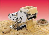 Лапшерезка с насадкой для равиоли 3х1 (домашняя лапша , равиоли, макароны) занимает мало места, легко чистится