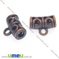 Основа для кулона Бейл, 12х9х5 мм, Медь, 1 шт. (OSN-008499)