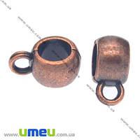 Основа для кулона Бейл, 11х5х8 мм, Медь, 1 шт. (OSN-008510)