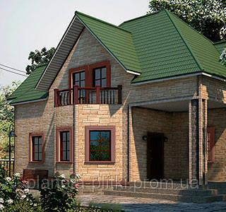 Фасадная панель «камень природный»