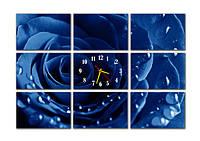 Часы на стену модульные М7 (30Х45 каждая деталь)
