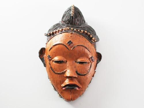 Маска деревянная на стену этническая Папуа Гимбу