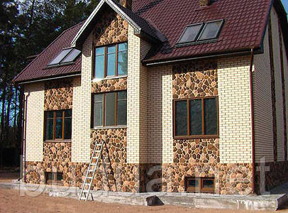 Фасадная панель «Бутовый камень»