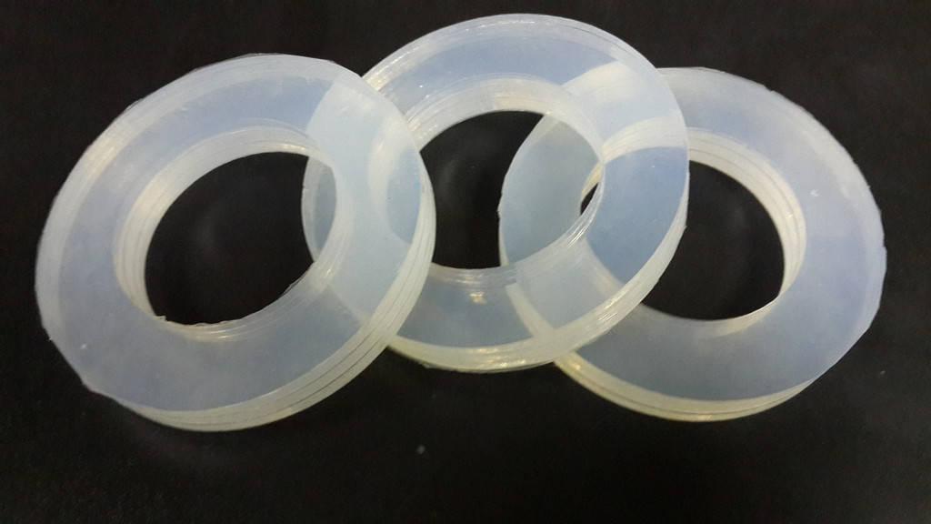 Изготовление прокладки из пищевого силикона для оборудования молокозавода.