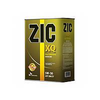 Масло моторное Zic XQ 5W-30 (Канистра 4литра) универсальное (бензин + дизель)