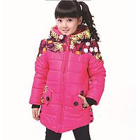 """Детская демисезонная куртка на девочку """"Узор"""" подростковая"""
