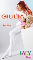 Теплые махровые колготы для девочек ТМ GIULIA